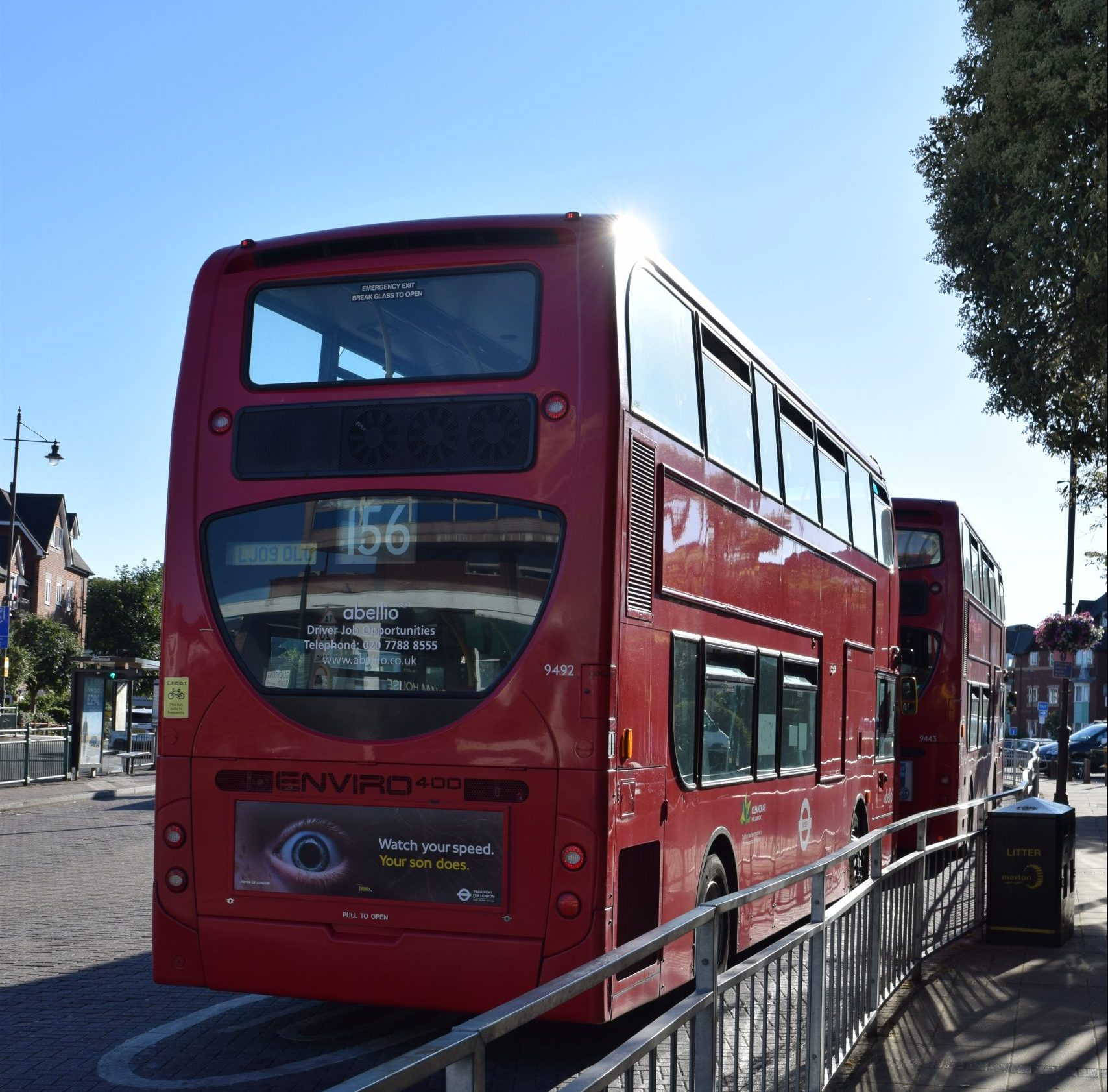 Wimbledon Bus Station